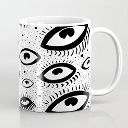 They're Watching Above Coffee Mug