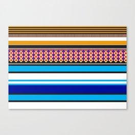 Colorful Vibez X Canvas Print