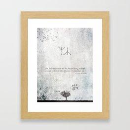 The Distress Framed Art Print