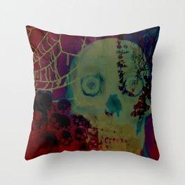 Catacomb Nightmare Throw Pillow