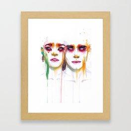Silence and Echo Framed Art Print