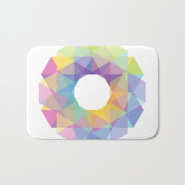 Fig. 036 Colorful Circle Bath Mat