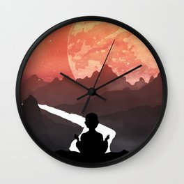 Let your fears run down the creek. Wall Clock