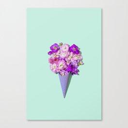 Flower Flurry II Canvas Print