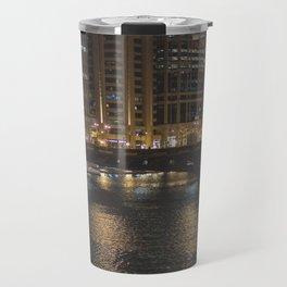 Chicago Skyline Nightshot Travel Mug
