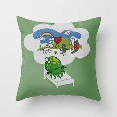 Unspeakable Nightmare Throw Pillow