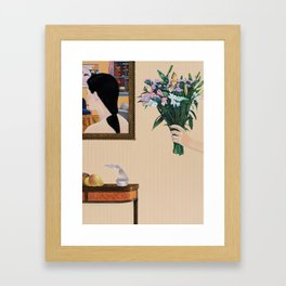 the misunderstanding Framed Art Print