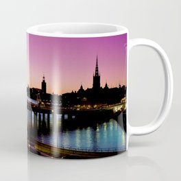 Sunset over Stockholm - Landscape Photography Coffee Mug