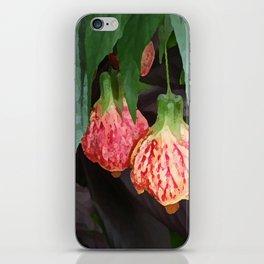 BRIZILLAN MAPLE BELL FLOWER iPhone Skin