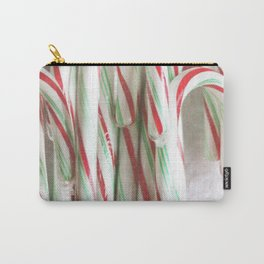 Candy Cane Stash Carry-All Pouch