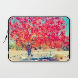 Orange Tree Watercolor  Laptop Sleeve