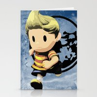 lucas david Stationery Cards featuring Lucas by ScoDeluxe