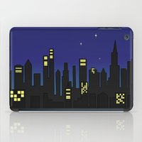cityscape iPad Cases featuring Cityscape by Jozi