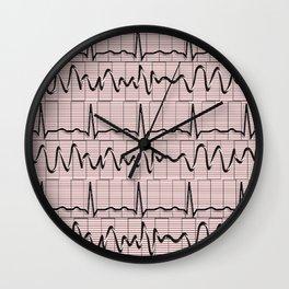 Cardiac Rhythm Strips EKG Wall Clock