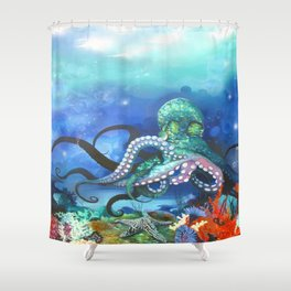 Illuminated Depth Shower Curtain