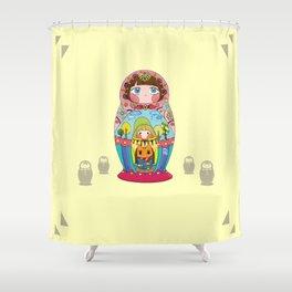 Russian doll Shower Curtain