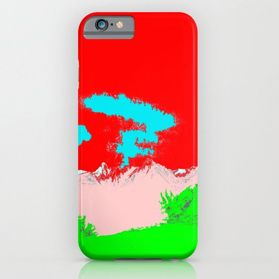 Ice Cream Mountain iPhone & iPod Case