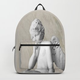 Ancient Sculpture Angel Decor Backpack
