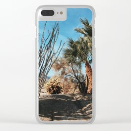 Borrego Springs Winter Clear iPhone Case