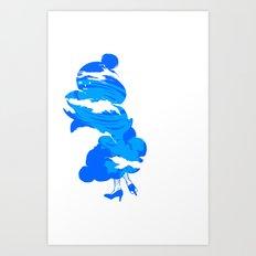 Hot O'air Art Print