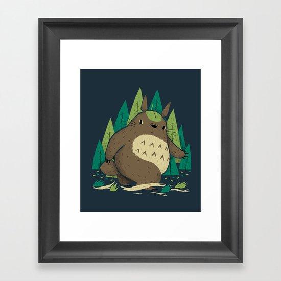 torofoot Framed Art Print