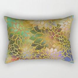 Floral Abstract 3 Rectangular Pillow