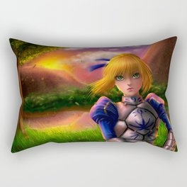 Saber Fate/Zero Rectangular Pillow