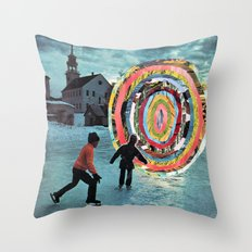F*cking Portals Throw Pillow