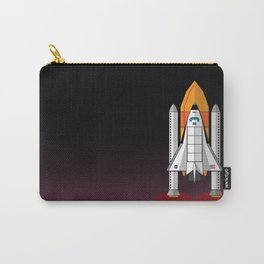 Space Shuttle night launch Carry-All Pouch