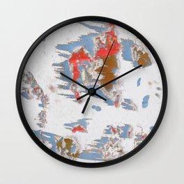 Autumn Snow Wall Clock