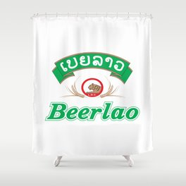 Beer Lao Shower Curtain