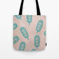 feather Tote Bags featuring Feather by sinonelineman