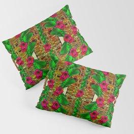 tree flower paradise of inner peace and calm pop-art Pillow Sham