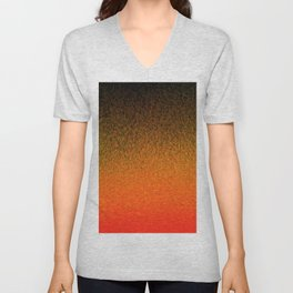 Sunset Dashes Unisex V-Neck