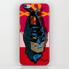 The Bat vs Khinde Wiley Variant  iPhone Skin