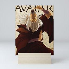 Fire nation master Mini Art Print