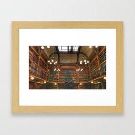 Law Library Framed Art Print