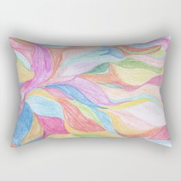 Fox Tails Rectangular Pillow