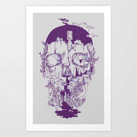 Inside My Head 2.0 Art Print