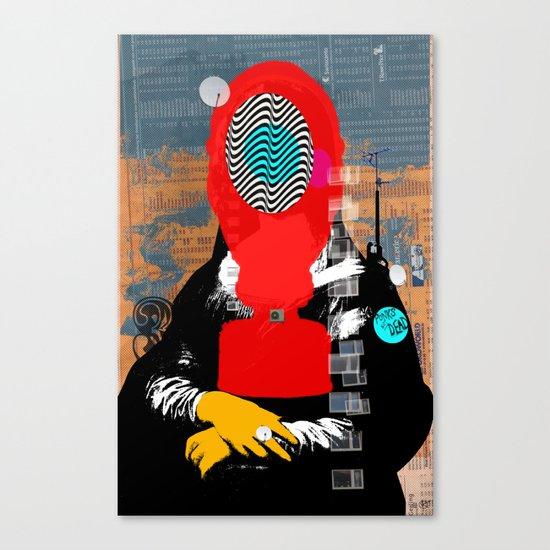 Mona Gasa StreetPunkArt 2 Canvas Print