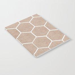 natural hexagon Notebook
