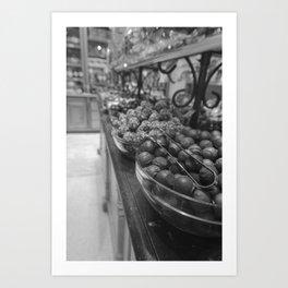 Chocolate Store. Art Print