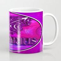 astrology Mugs featuring Sagittarius Zodiac Sign Astrology by CAP Artwork & Design