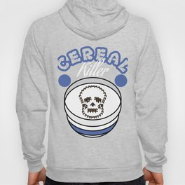 """""""Cereal killer"""" tee design. Perfect gift this seasons of giving for your family and friends! Hoody"""