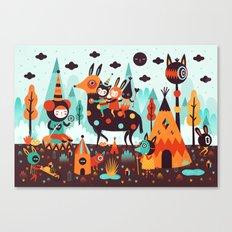 The Spirit Walker Canvas Print