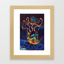 Dark Incubating Framed Art Print