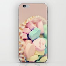 Je T'aime Valentine iPhone & iPod Skin