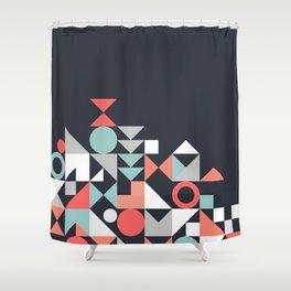 Modern Geometric 30 Shower Curtain