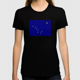 flag of alaska,america,usa,ice, north,Midnight Sun,Alaskan,Anchorage,Fairbanks,Juneau T-shirt
