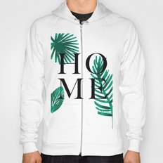 Home palm leaves Hoody